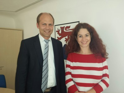 Wellendingens Bürgermeister und die Grüne Landtagskandidatin