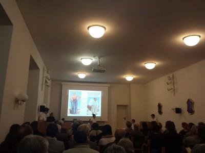 Sonja Rajsp bei der Gedenkstunde zur Reichsprogromnacht