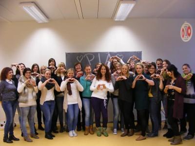 Unterhaltsamer Vormittag in der PIA-Klasse der Edith-Stein-Schule Rottweil