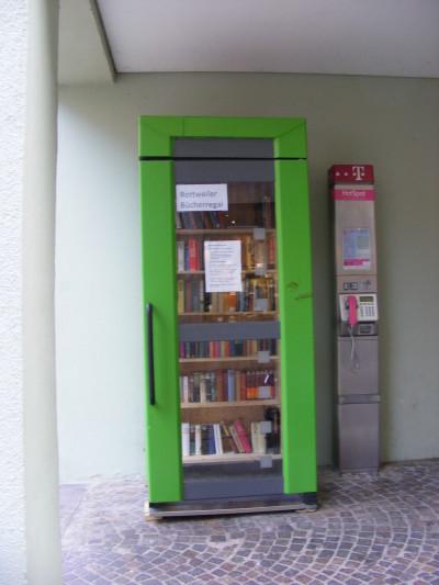 Rottweils Öffentliches Bücherregal