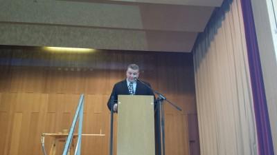 Manfred Haas, Vorsitzender des Kreisbauernverbands Rottweil