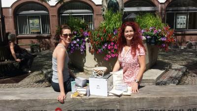 Sonja-Rajsp-Spendenübergabe