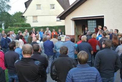 Viele Interessierte in Böhringen.