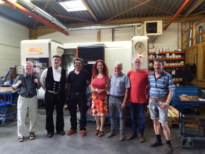 Besuch bei Firma Esslinger