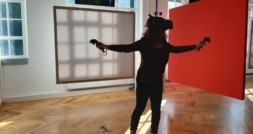 Sonja Rajsp zu Besuch im VRitz